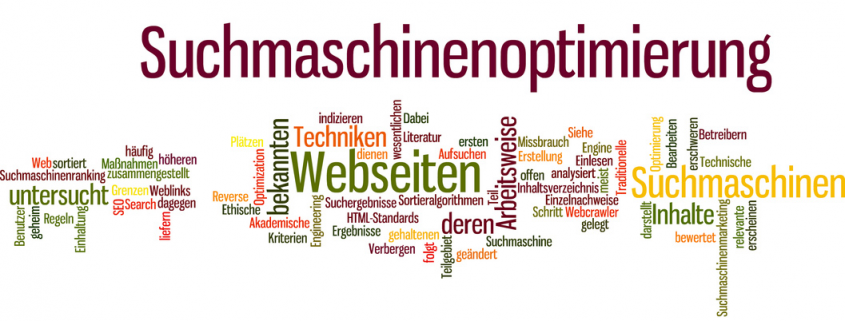 Suchmaschinenoptimierung SEO Keywords