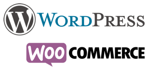 Wordpress und Woo-Commerce Logo